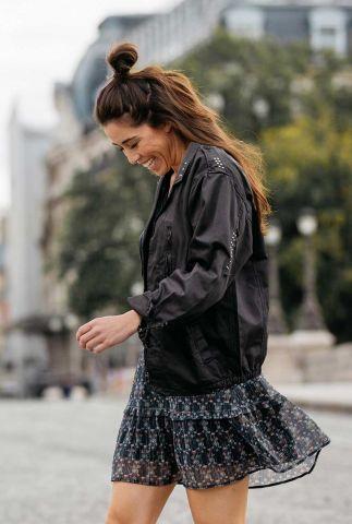 zwarte jas by naomi van as tam jacket  w20.130.1044
