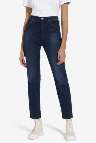 donkere high rise western slim jeans w2wzz5119