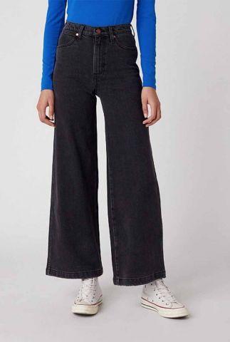 donkere jeans met wijde pijpen worldwide storm W2H5D323J