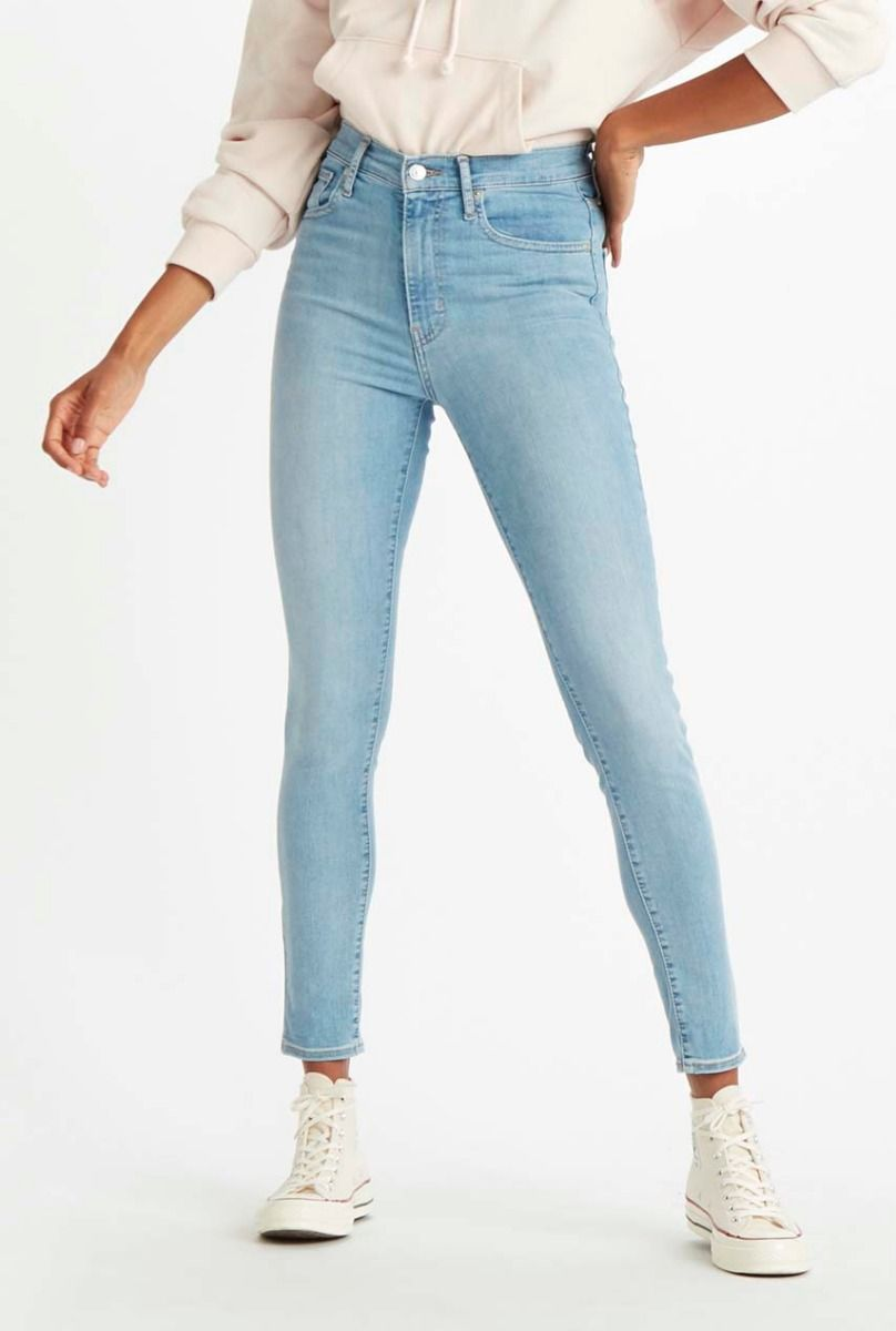 Levi's lichte mile high super skinny jeans 22791 0110